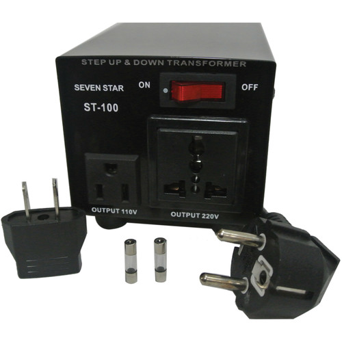Sevenstar ST-100 Step Up/Step Down Transformer (100W)