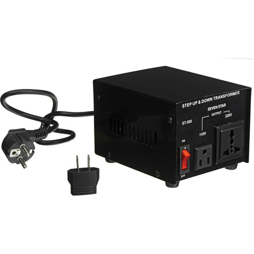 Sevenstar ST-500 Step Up/Step Down Transformer (500W)
