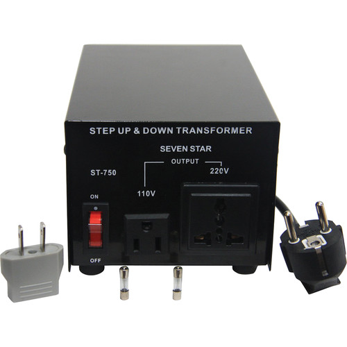 Sevenstar ST-750 Step Up/Step Down Transformer (750W)