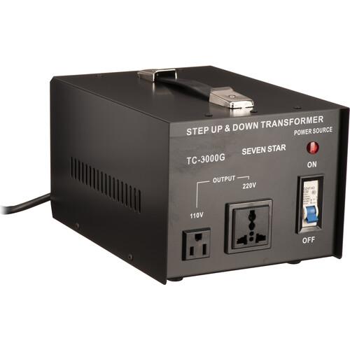 Sevenstar TC-3000 Step Up/Step Down Transformer (3,000W)