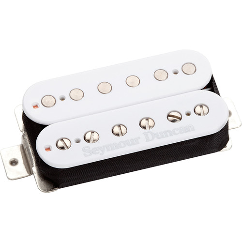 Seymour Duncan SH-11 Custom Custom Humbucker for Bridge (White)