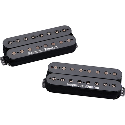 Seymour Duncan Black Winter Set - 8-String Bridge and Neck Humbuckers