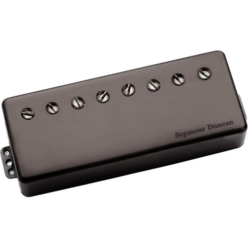 Seymour Duncan Sentient 8-String Passive Mount Humbucker (Black Metal Cover)