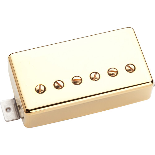 Seymour Duncan TB-6 Duncan Distortion Trembucker Pickup for Bridge (Gold-Plated Cover)