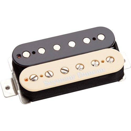Seymour Duncan TB-6 Duncan Distortion Trembucker Pickup for Bridge (Zebra)