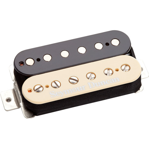 Seymour Duncan TB-11 Custom Custom Trembucker Pickup for Bridge (Zebra)