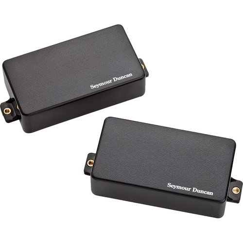 Seymour Duncan L-CH2S Live Wire Classic II Neck and Bridge Humbucker Set (Black)