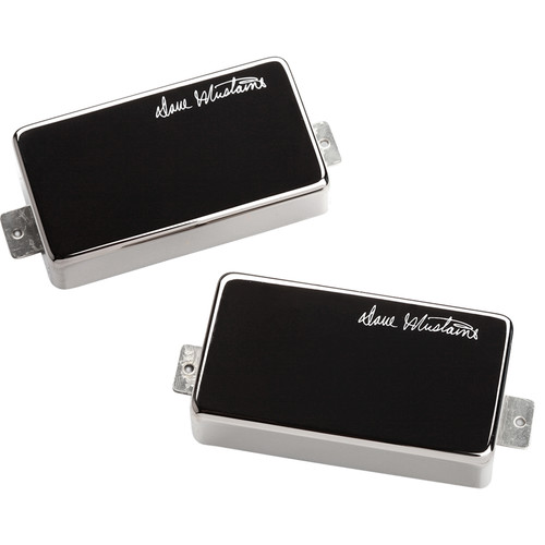 Seymour Duncan LW-MUST Dave Mustaine LiveWire Neck and Bridge Humbucker Set (Black-Nickel Cover)