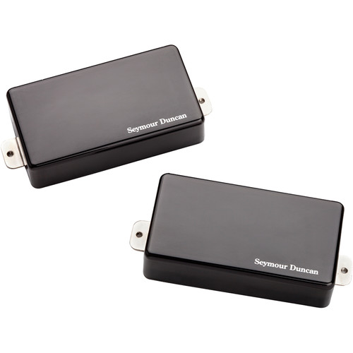 Seymour Duncan AHB-1S Blackouts Neck and Bridge Humbucker Set (Black Chrome)