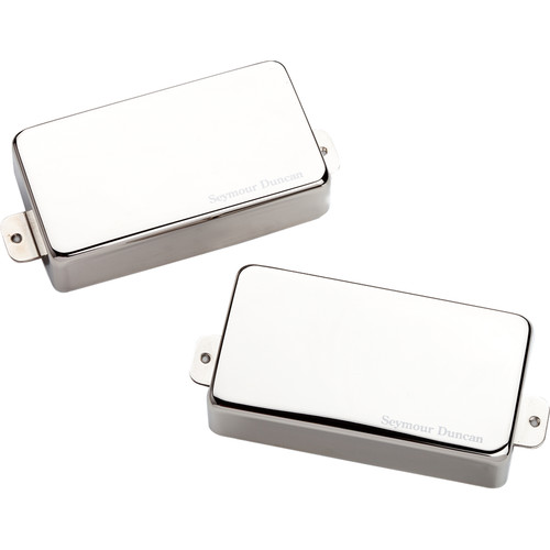 Seymour Duncan AHB-1S Blackouts Neck and Bridge Humbucker Set (Nickel)