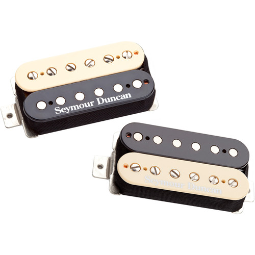 Seymour Duncan Pearly Gates Humbucker Set for Neck and Bridge (Zebra)