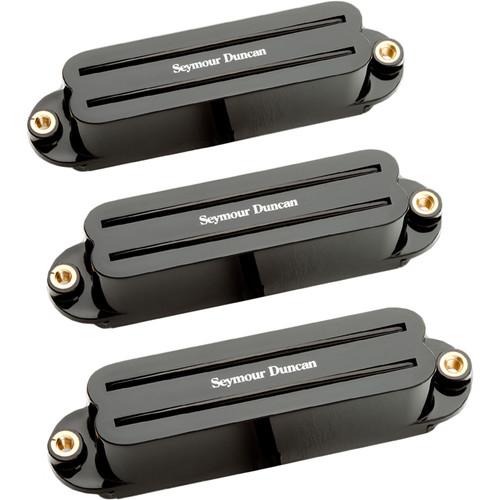 Seymour Duncan Hot Rails Strat Set for Neck, Middle & Bridge (Black)
