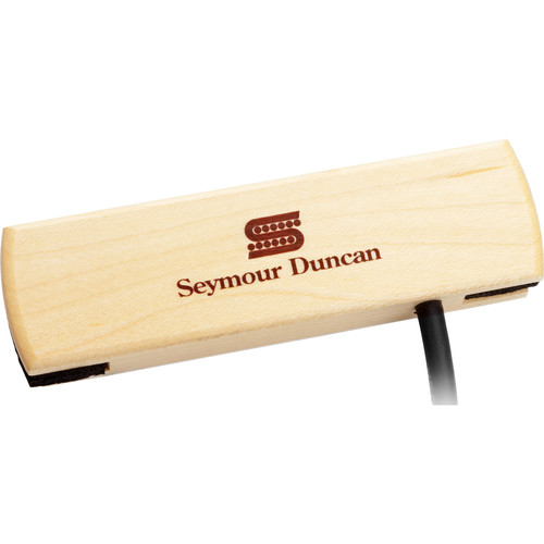 Seymour Duncan SA-3SC Woody Single Coil Steel String Acoustic Guitar Soundhole Pickup (Maple)