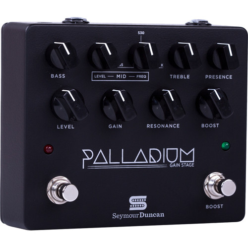Seymour Duncan Palladium Gain Stage Guitar FX Pedal (Matte Black)
