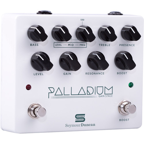 Seymour Duncan Palladium Gain Stage Guitar FX Pedal (Glossy White)