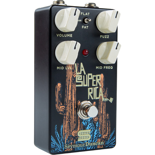 Seymour Duncan LA Super Rica Fuzz Pedal for Electric Guitars