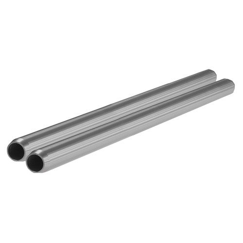 """SHAPE 15mm Rods (Pair, Silver, 14"""")"""