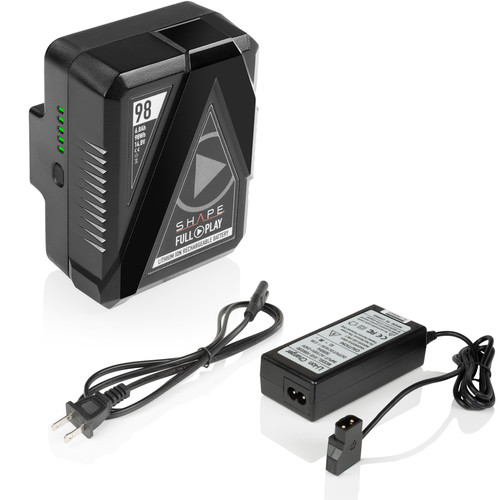 SHAPE Full Play GoldMount Battery Kit with Portable D-Tap Charger