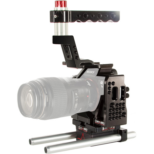 SHAPE Cage with 15mm Rod System for Sony a7 II, a7S II, & a7R II