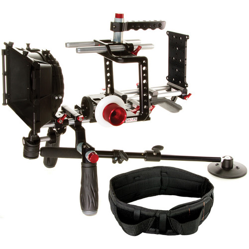 SHAPE Blackmagic Cinema Camera Shouler Mount Offset Bundle