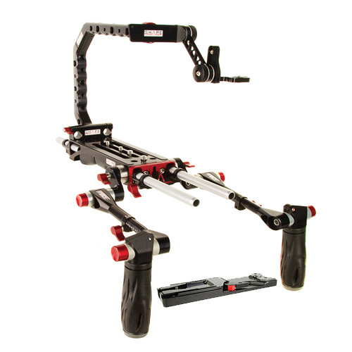 SHAPE 8000 V-Lock QR Baseplate, Tripod Adapter, Paparazzi Handle, EVF Mount