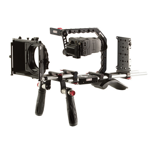 SHAPE Panasonic GH4 Shoulder Mount Bundle with Gold Mount Battery Plate