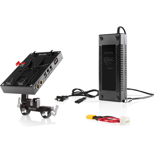 SHAPE D-Box Camera Power & Charger for Blackmagic URSA Mini/URSA Mini Pro (V-Mount)