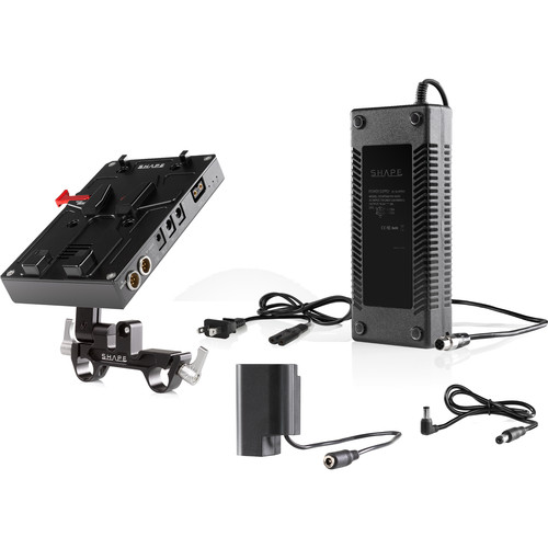 SHAPE D-Box Camera Power & Charger for Panasonic GH4/GH5 (V-Mount)
