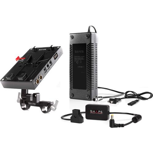 SHAPE D-Box Camera Power & Charger for Panasonic EVA1 & Sony FS7/FS7M2/FS5/FS5M2 (V-Mount)