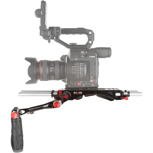 SHAPE Shoulder Rig with Left-Side Handgrip for Canon EOS C200 Camera