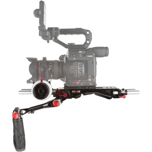 SHAPE Bundle Rig with Follow Focus Pro for Canon EOS C200