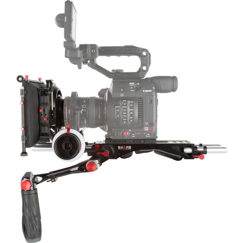 "SHAPE Canon C200 Camera Bundle Rig with Follow Focus Pro & 4 x 5.6"" Matte Box"