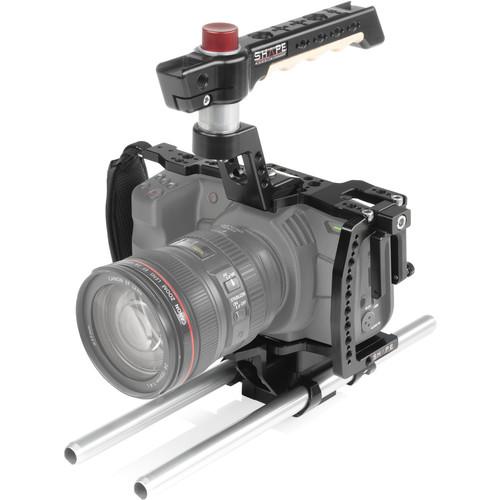SHAPE Camera Cage with 15mm Rod System for Blackmagic Pocket Cinema 6K & 4K