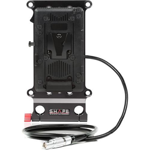 SHAPE Cheese Plate and V-Mount Battery Plate for RED Camera