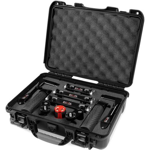 SHAPE Telescoping Handles with Rod Blocks Kit (Black)