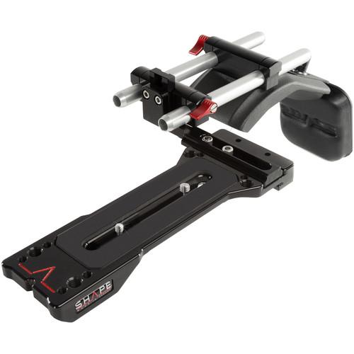 SHAPE Offset Shoulder Rig for ENG-Style Camcorder