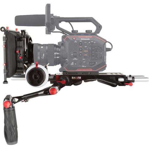 "SHAPE Panasonic AU-EVA1 Camera Bundle Rig with Follow Focus Pro and 4 x 5.6"" Matte Box"