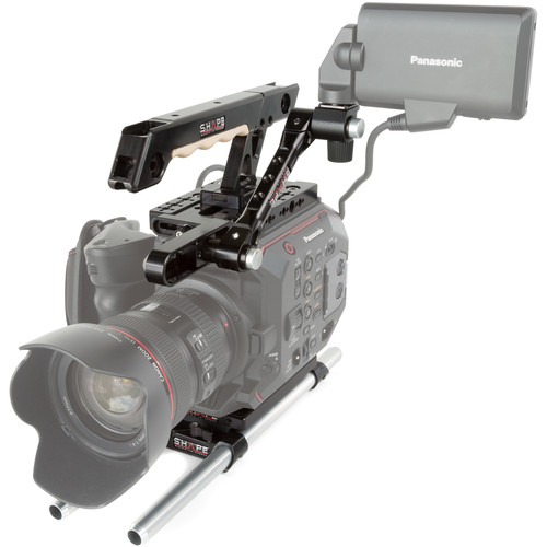 SHAPE 15mm LW Handle EVF Mount for Panasonic AU-EVA1 Camera