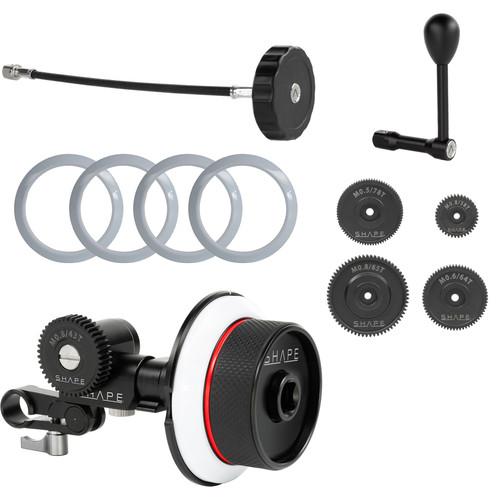 SHAPE Follow Focus Kit with Single 15mm Rod Clamp