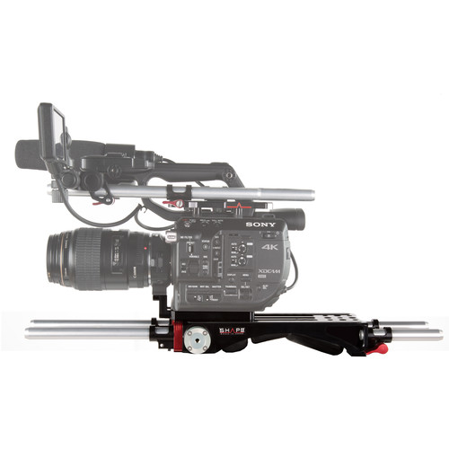 SHAPE Sony FS5/FS5M2 Baseplate V-Lock Quick Release with Metabones Support