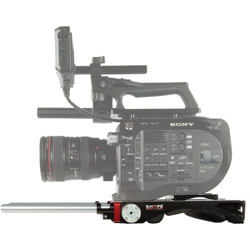 SHAPE Sony FS7M2 V-Lock Quick-Release Baseplate