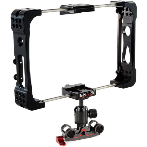 SHAPE Atomos Inferno Cage with 15mm Rod Block Ballhead