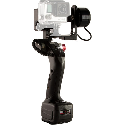 SHAPE GoPro Hero Handheld Gimbal ISEEI 2.0 with Nanuk Protective 910 Case