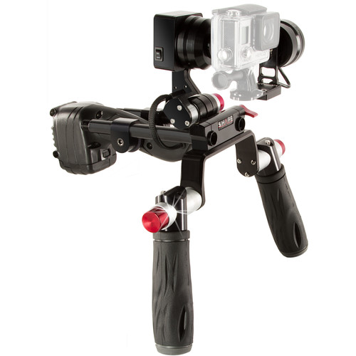 SHAPE ISEEI-2.0RIG Two-Axis Gimbal Handheld Rig for GoPro Hero & Smartphones