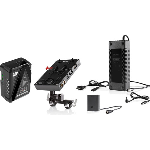 SHAPE D-Box Camera Power & Charger Kit with 98Wh Battery for Sony a7R III & a7 III