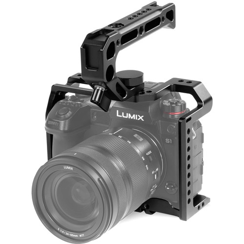 SHAPE Camera Cage with Top Handle for Panasonic Lumix S1/S1R/S1H