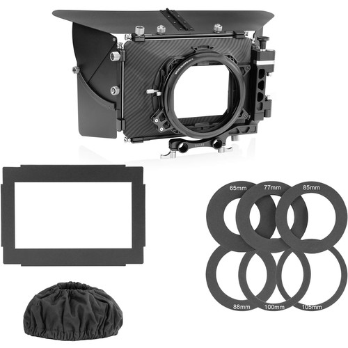 "SHAPE 2-Stage 4 x 4"" Matte Box with Porta Brace MB-1B Case"
