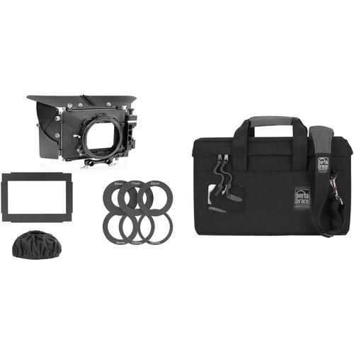 "SHAPE 2-Stage 4 x 4"" Matte Box with Porta Brace MB-1B Case"