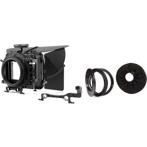 SHAPE 4 x 5.6 Carbon Fiber Swing-Away Matte Box Set with 15/19mm Rod Adapters