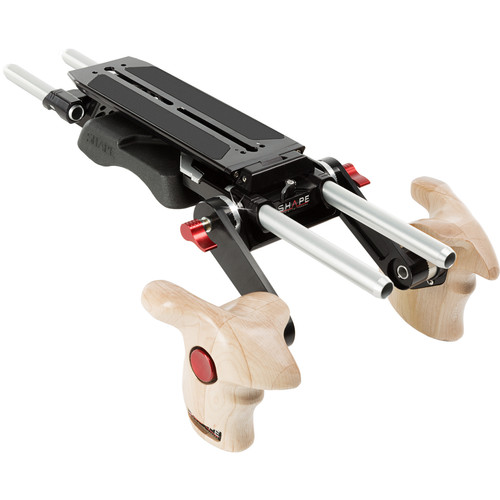 SHAPE REVOLT VCT Universal Baseplate with Wooden Handle Grips